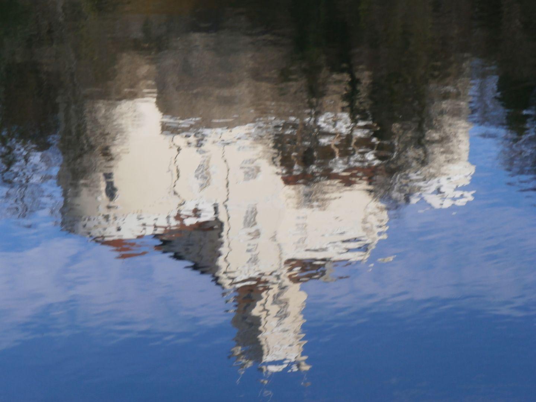 Trakošćan - odraz u jezeru